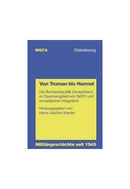Abbildung von Harder | Von Truman bis Harmel | 2000 | Die Bundesrepublik Deutschland... | 11