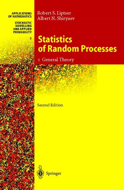 Abbildung von Liptser / Shiryaev | Statistics of Random Processes | 2nd rev. and exp. ed. | 2000