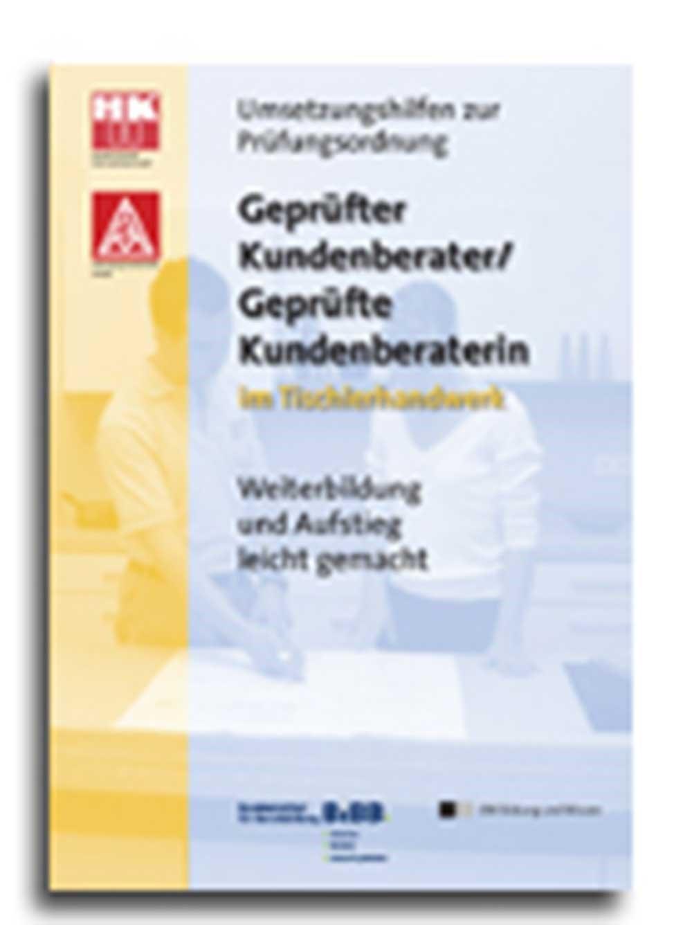 Abbildung von Geprüfte Kundenberater / Kundenberaterinnen im Tischlerhandwerk | 2005