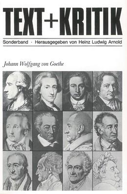 Abbildung von Johann Wolfgang von Goethe | 1. Auflage | 1982 | Sonderband