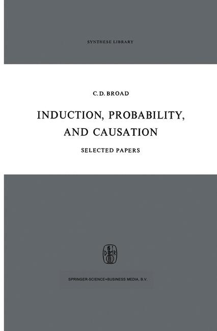 Abbildung von Broad | Induction, Probability, and Causation | 1967