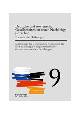 Abbildung von Cubar'Jan / Wirsching | Deutsche und sowjetische Gesellschaften im ersten Nachkriegsjahrzehnt | 1. Auflage | 2020 | beck-shop.de