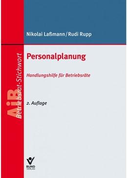 Abbildung von Laßmann / Rupp | Personalplanung | 2. Auflage | 2020 | beck-shop.de