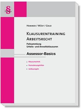 Abbildung von Hemmer / Wüst | Assessor Klausurentraining Arbeitsrecht | 16. Auflage | 2020 | beck-shop.de