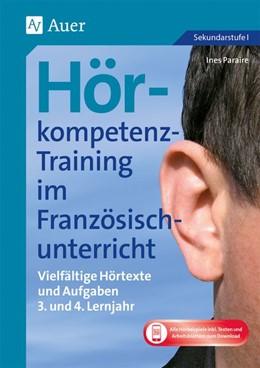 Abbildung von Paraire | Hörkompetenz-Training im Französischunterricht 3-4 | 1. Auflage | 2020 | beck-shop.de