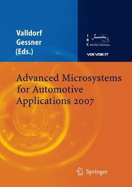 Abbildung von Valldorf / Gessner | Advanced Microsystems for Automotive Applications 2007 | 2007