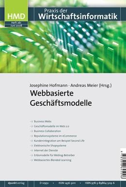 Abbildung von Hofmann / Meier | Webbasierte Geschäftsmodelle | 2008 | 261