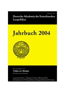 Abbildung von Deutsche Akademie der Naturforscher Leopoldina / ter Meulen | Jahrbuch 2004 | 2005 | Jahrgang 50