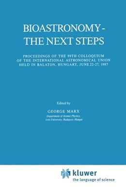 Abbildung von Marx   Bioastronomy - The Next Steps   1988   Proceedings of the 99th Colloq...   144