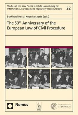 Abbildung von Hess / Lenaerts | The 50th Anniversary of the European Law of Civil Procedure | 1. Auflage | 2020 | beck-shop.de