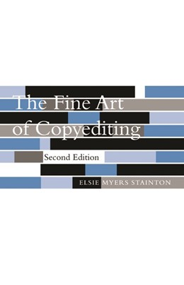 Abbildung von Stainton | The Fine Art of Copyediting | second ed. | 2002