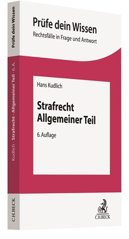 Abbildung von Kudlich | Strafrecht Allgemeiner Teil | 6. Auflage | 2021 | beck-shop.de