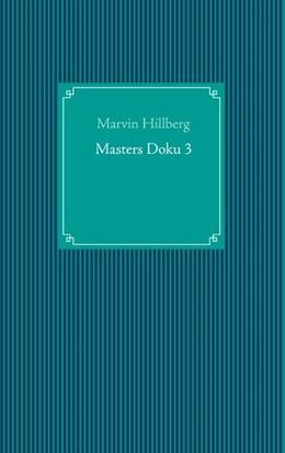 Abbildung von Hillberg | Masters Doku 3 | 1. Auflage | 2020 | beck-shop.de