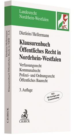 Abbildung von Dietlein / Hellermann   Klausurenbuch Öffentliches Recht in Nordrhein-Westfalen   3. Auflage   2020   beck-shop.de