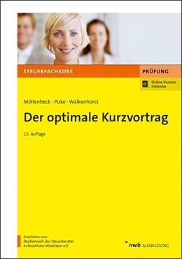 Abbildung von Möllenbeck / Puke | Der optimale Kurzvortrag | 15. Auflage | 2020 | beck-shop.de