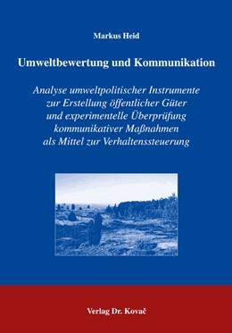 Abbildung von Heid   Umweltbewertung und Kommunikation   2004   Analyse umweltpolitischer Inst...   5
