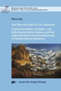 Abbildung von Lang | Von Frau de Staël zu D.H. Lawrence | 2009