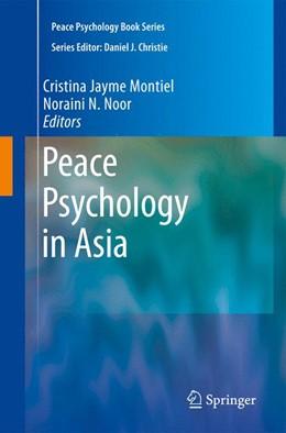 Abbildung von Montiel / Noor | Peace Psychology in Asia | 2009