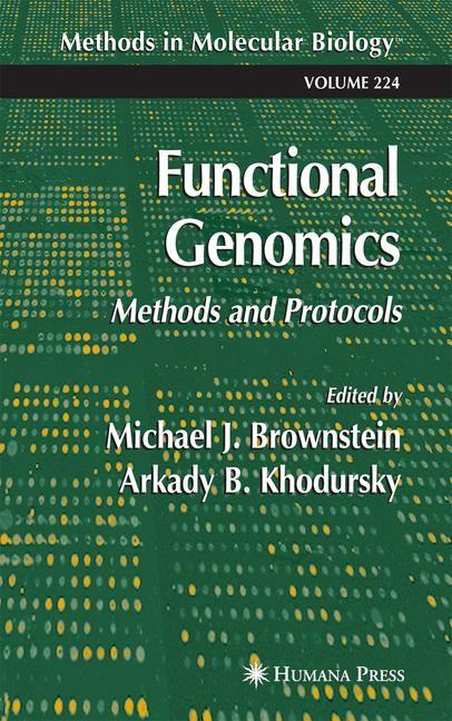 Abbildung von Brownstein / Khodursky | Functional Genomics | 2003