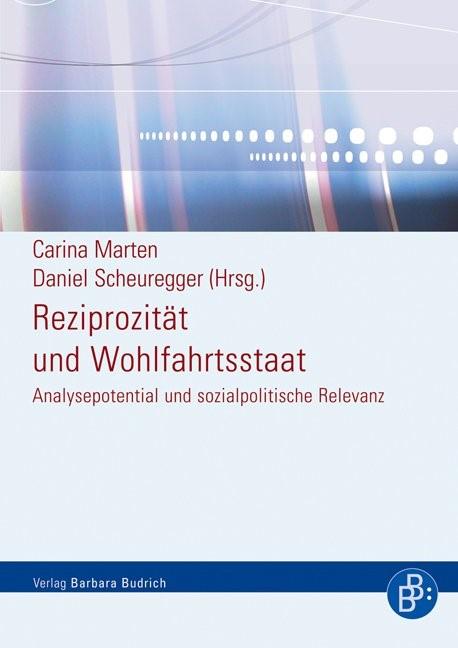 Abbildung von Scheuregger / Marten | Reziprozität und Wohlfahrtsstaat | 1., Aufl. | 2007