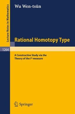 Abbildung von Wu | Rational Homotopy Type | 1987 | A Constructive Study via the T... | 1264