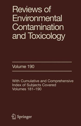 Abbildung von Ware | Reviews of Environmental Contamination and Toxicology 190 | 2007 | Edited by George Ware | 190