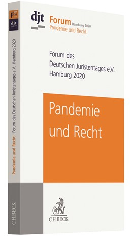 Abbildung von Deutscher Juristentag e.V. (djt) | Pandemie und Recht | 1. Auflage | 2021 | beck-shop.de