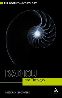 Abbildung von Depoortere | Badiou and Theology | 2009