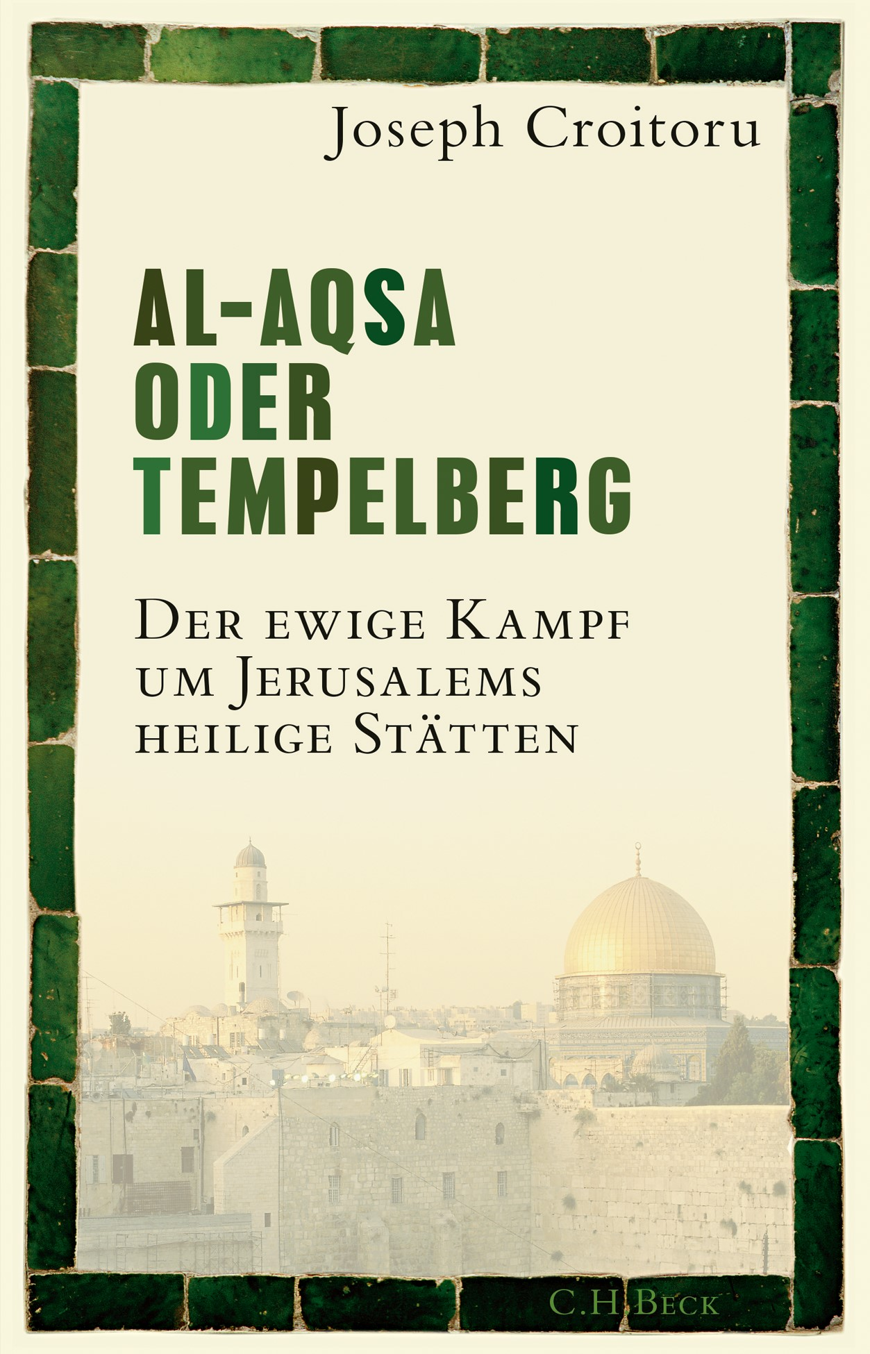 Al-Aqsa oder Tempelberg   Croitoru, Joseph   Hardcover