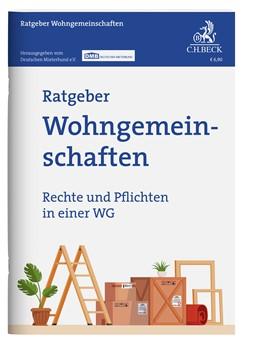 Abbildung von Ratgeber Wohngemeinschaften   1. Auflage   2021   beck-shop.de