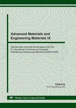 Abbildung von Wei | Advanced Materials and Engineering Materials IX | 1. Auflage | 2020 | beck-shop.de