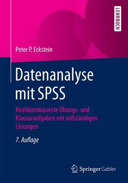 Abbildung von Eckstein | Datenanalyse mit SPSS | 7. Auflage | 2021 | beck-shop.de