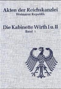 Abbildung von Schulze-Bidlingmaier | Die Kabinette Wirth I und II (1921-1922) | 1996