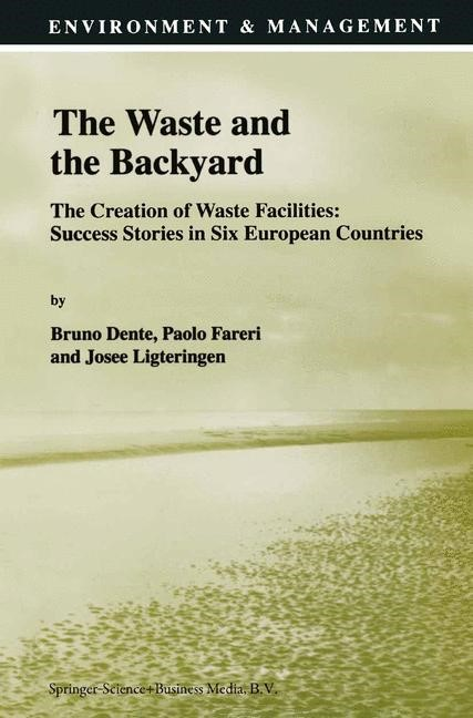 Abbildung von Dente / Fareri / Ligteringen | The Waste and the Backyard | 1998