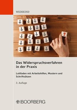Abbildung von Wedekind   Das Widerspruchsverfahren in der Praxis   3. Auflage   2020   beck-shop.de