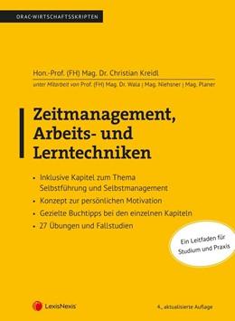 Abbildung von Kreidl | Zeitmanagement, Arbeits- und Lerntechniken | 4. Auflage | 2020 | beck-shop.de