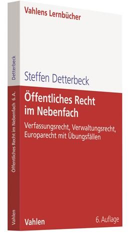 Abbildung von Detterbeck | Öffentliches Recht im Nebenfach | 6. Auflage | 2021 | beck-shop.de