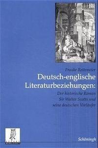 Abbildung von Reitemeier | Deutsch-englische Literaturbeziehungen | 2001