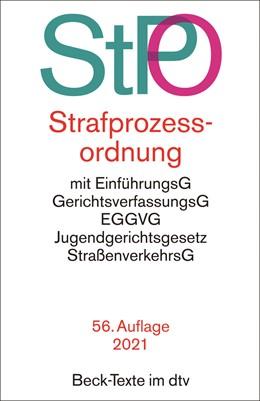 Abbildung von Strafprozessordnung: StPO | 56. Auflage | 2021 | 5011 | beck-shop.de