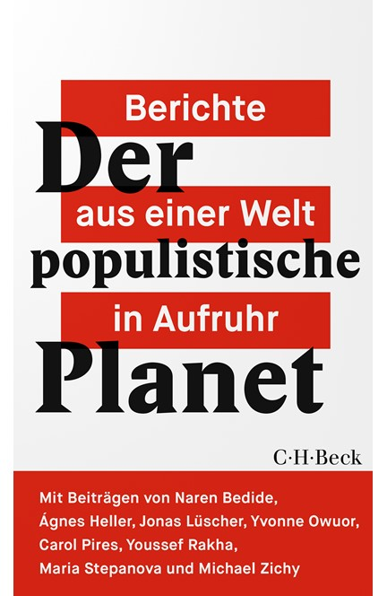 Cover: , Der populistische Planet