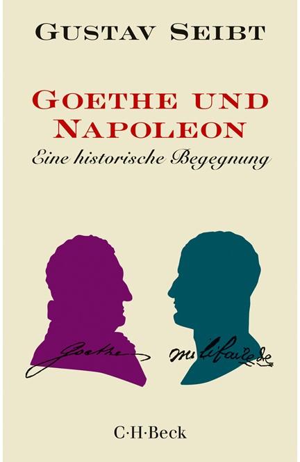 Cover: Gustav Seibt, Goethe und Napoleon