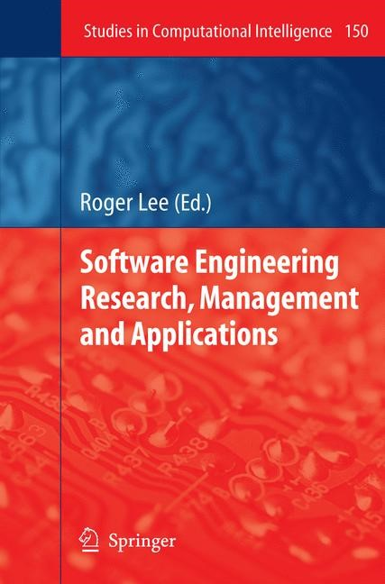 Abbildung von Lee | Software Engineering Research, Management and Applications | 2008
