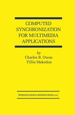 Abbildung von Owen / Makedon | Computed Synchronization for Multimedia Applications | 1999 | 513