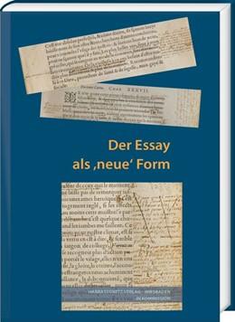 Abbildung von Mahler | Der Essay als
