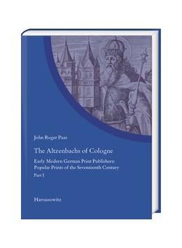 Abbildung von Paas | The Altzenbachs of Cologne 2 Teile | 1. Auflage | 2020 | beck-shop.de