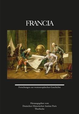 Abbildung von Deutschen Historischen Institut Paris   Francia 47 (2020)   1. Auflage   2020   beck-shop.de
