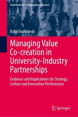 Abbildung von Dudkowski | Managing Value Co-creation in University-Industry Partnerships | 1. Auflage | 2021 | beck-shop.de