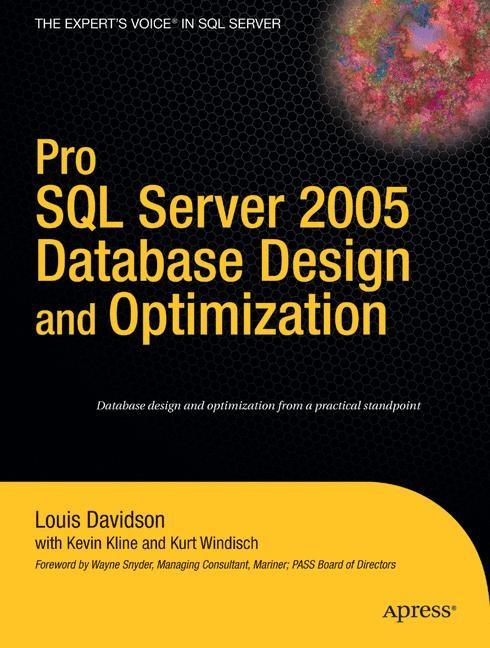 Abbildung von Davidson / Kline / Windisch | Pro SQL Server 2005 Database Design and Optimization | 1st ed. | 2006