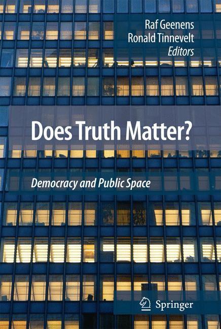 Abbildung von Tinnevelt / Geenens   Does Truth Matter?   2008