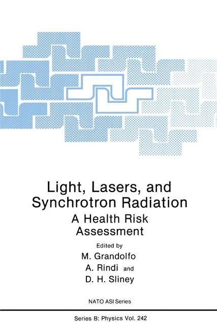 Abbildung von Grandolfo / Rindi / Sliney | Light, Lasers, and Synchrotron Radiation | 1991